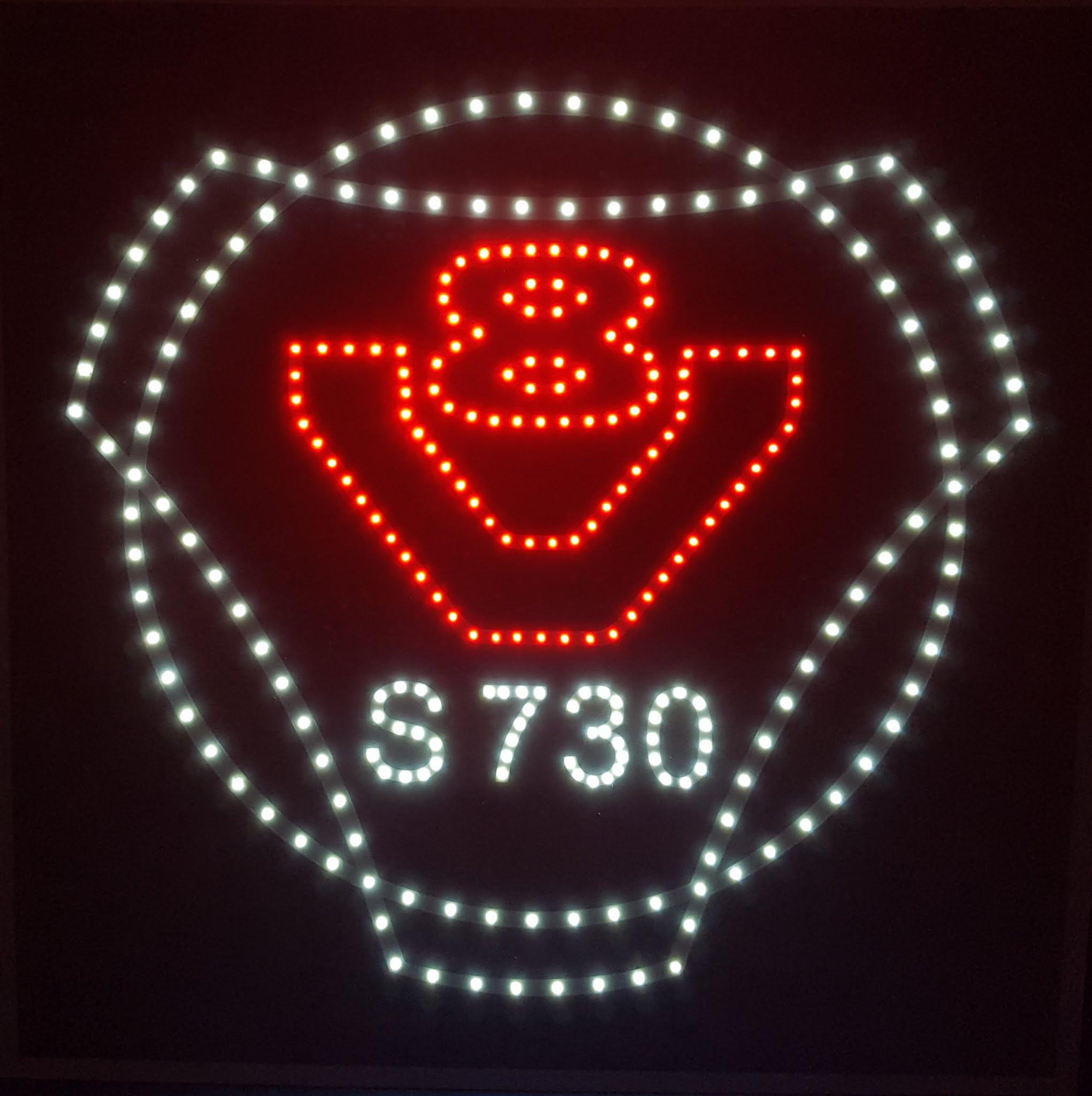 V8 493