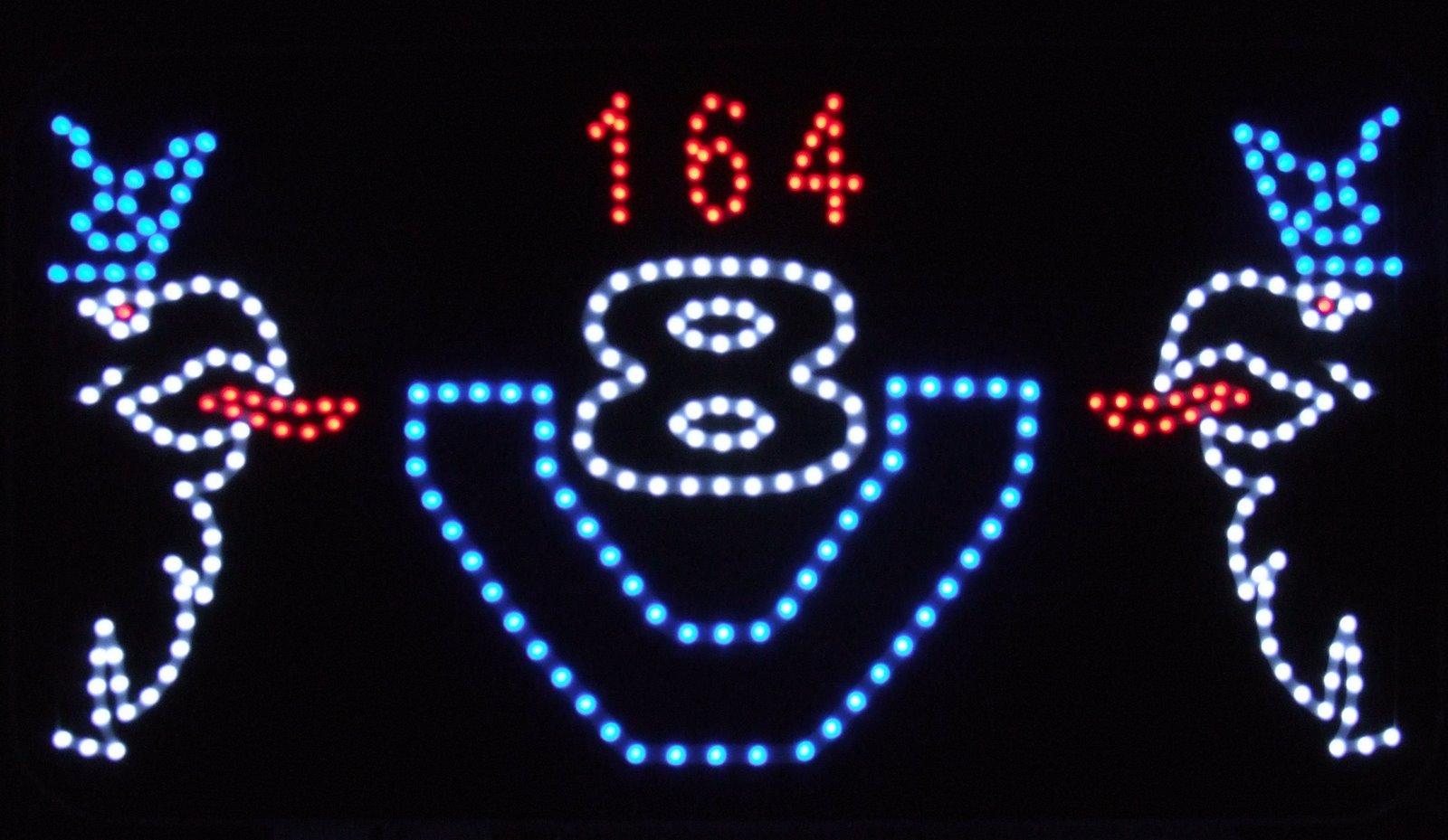 V8 543